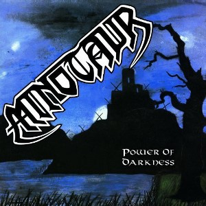 "MINOTAUR ""Power Of Darkness"" Copyright 1988 Crazy Records"